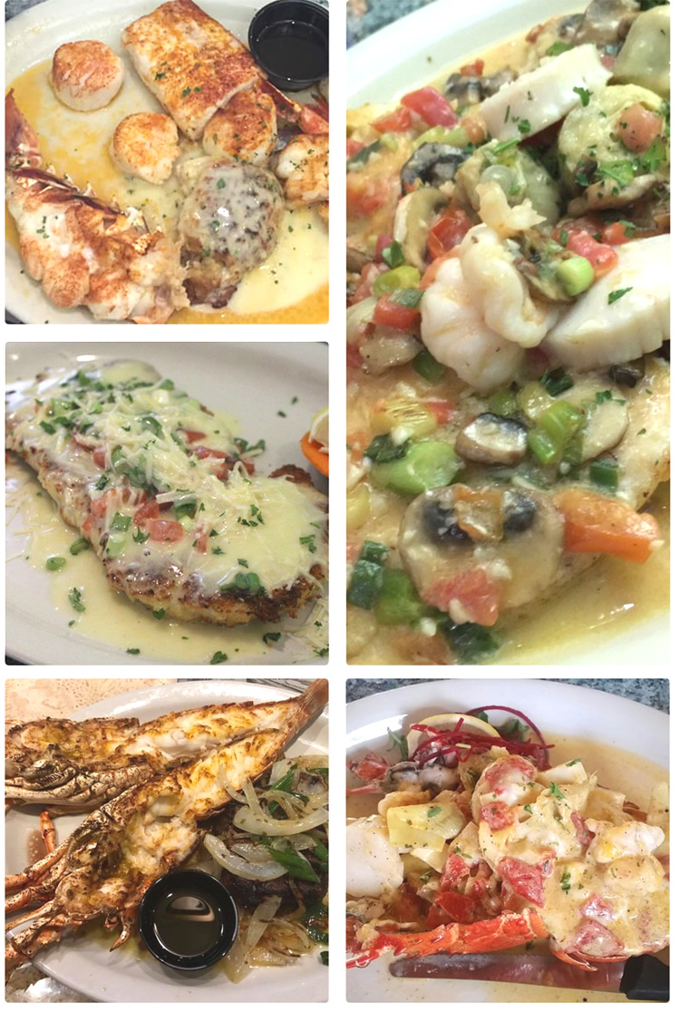 Delicious Food At Lazy Lobster Restaurant In Key Largo Florida